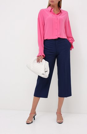 Женская шелковая рубашка ESCADA фуксия цвета, арт. 5033519 | Фото 2