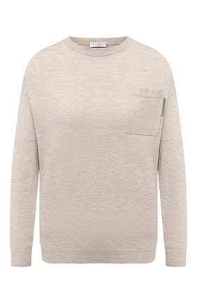 Пуловер из кашемира и вискозы | Фото №1