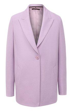 Женский шерстяной жакет WINDSOR фиолетового цвета, арт. 52 DS421V 10005463 | Фото 1