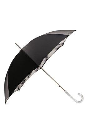 Женский зонт-трость PASOTTI OMBRELLI черного цвета, арт. 189N/RAS0 9B460/13/I35 | Фото 2