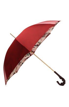 Женский зонт-трость PASOTTI OMBRELLI бордового цвета, арт. 189/RAS0 9F228/6/A35 | Фото 2