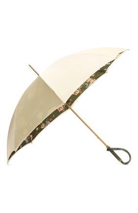 Женский зонт-трость PASOTTI OMBRELLI зеленого цвета, арт. 189/RAS0 9F189/2/A | Фото 2