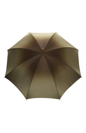Женский зонт-трость PASOTTI OMBRELLI зеленого цвета, арт. 189/RAS0 9F102/2/A35 | Фото 1