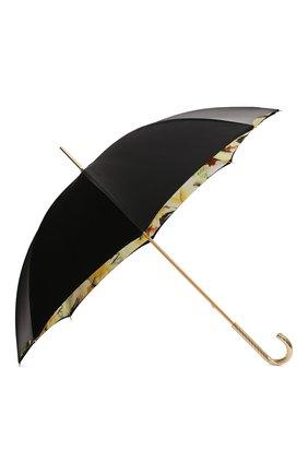 Женский зонт-трость PASOTTI OMBRELLI черного цвета, арт. 189/RAS0 97565/4/G2 | Фото 2
