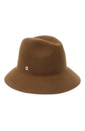 Женская фетровая шляпа ingrid LORO PIANA коричневого цвета, арт. FAL3434 | Фото 1