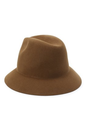 Женская фетровая шляпа ingrid LORO PIANA коричневого цвета, арт. FAL3434 | Фото 2