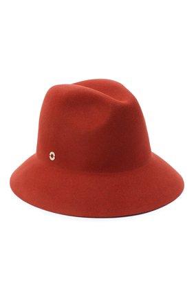 Женская фетровая шляпа ingrid LORO PIANA красного цвета, арт. FAL3434 | Фото 1