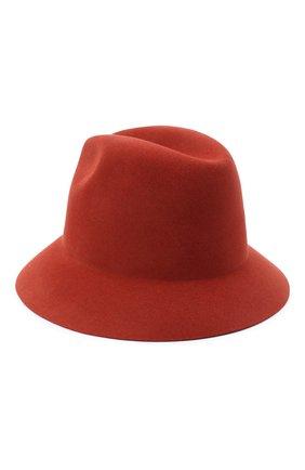Женская фетровая шляпа ingrid LORO PIANA красного цвета, арт. FAL3434 | Фото 2