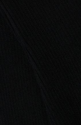 Женские колготки из смеси кашемира и шелка LORO PIANA темно-синего цвета, арт. FAC5023 | Фото 2