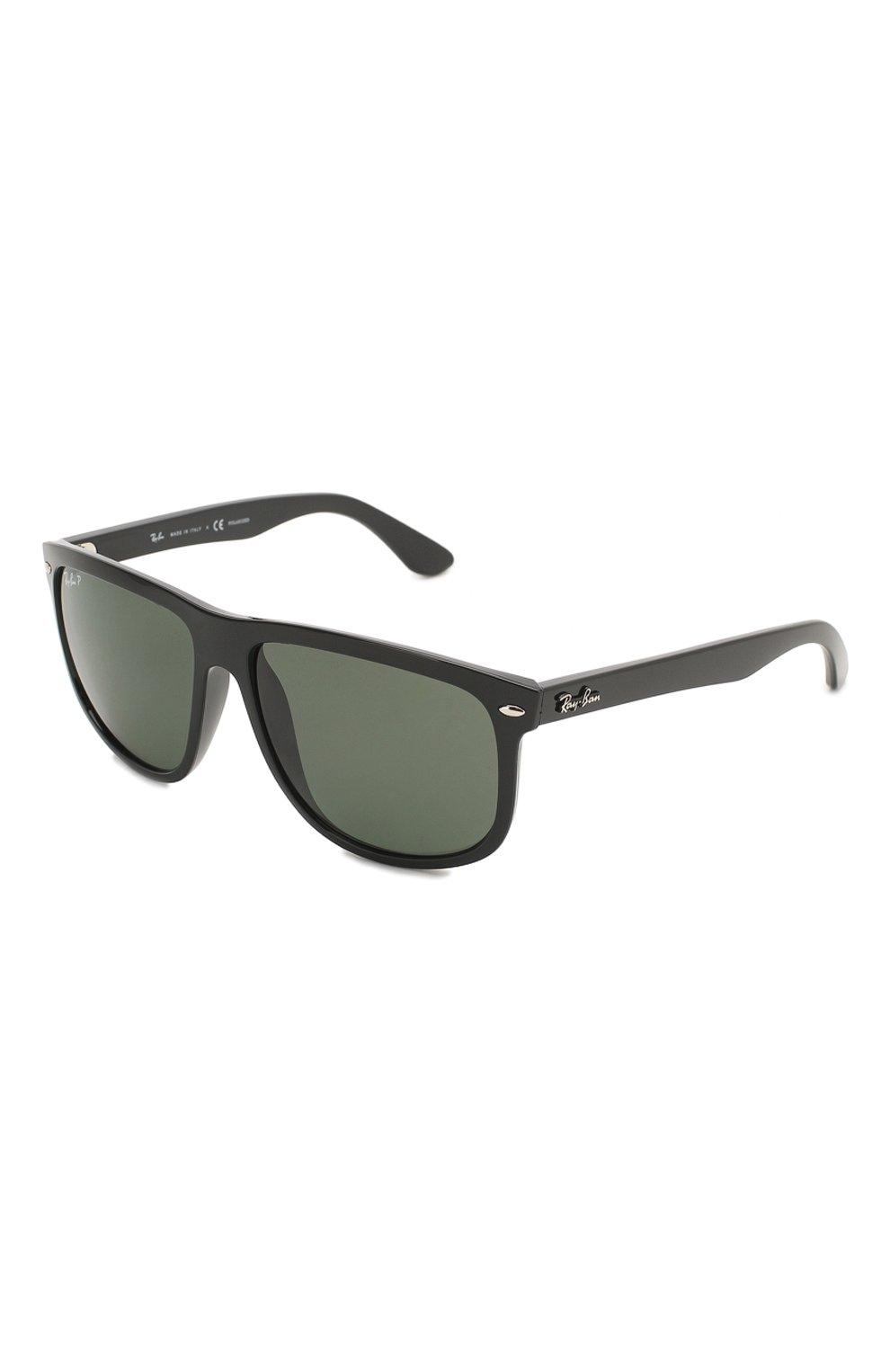 Мужские солнцезащитные очки RAY-BAN черного цвета, арт. 4147-601/58 | Фото 1