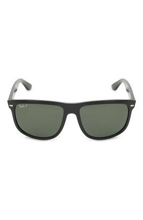 Мужские солнцезащитные очки RAY-BAN черного цвета, арт. 4147-601/58 | Фото 4