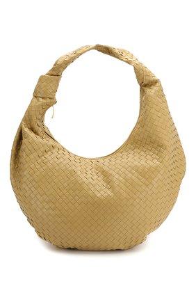 Женская сумка bv jodie maxi BOTTEGA VENETA бежевого цвета, арт. 618468/VCPP0 | Фото 1