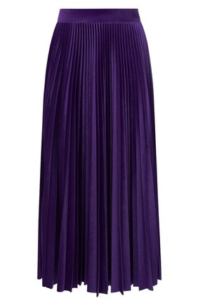 Женская юбка-миди VALENTINO фиолетового цвета, арт. UB3MD01W5MD | Фото 1