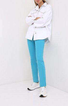 Женские джинсы ESCADA голубого цвета, арт. 5032573 | Фото 2