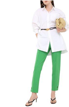 Женские брюки ESCADA зеленого цвета, арт. 5033687   Фото 2