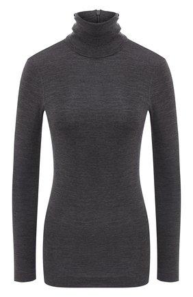 Женская шерстяная водолазка BRUNELLO CUCINELLI серого цвета, арт. MB941BT704 | Фото 1