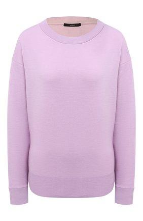 Женский шерстяной пуловер WINDSOR лилового цвета, арт. 52 DP463 10008402 | Фото 1