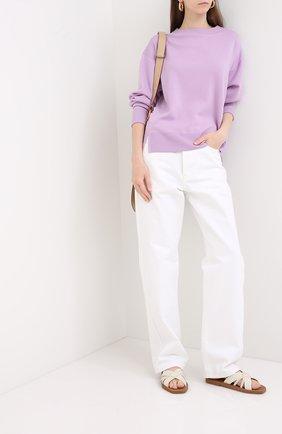 Женский шерстяной пуловер WINDSOR лилового цвета, арт. 52 DP463 10008402 | Фото 2