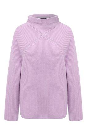 Женский кашемировый свитер WINDSOR лилового цвета, арт. 52 DP456 10000805 | Фото 1