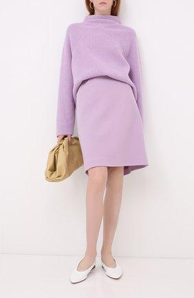 Женский кашемировый свитер WINDSOR лилового цвета, арт. 52 DP456 10000805 | Фото 2