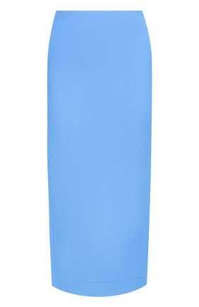 Женская юбка VALENTINO голубого цвета, арт. UB3RA6B51CF | Фото 1