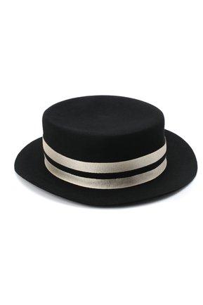Женская фетровая шляпа GIORGIO ARMANI черно-белого цвета, арт. 797403/0A522 | Фото 2