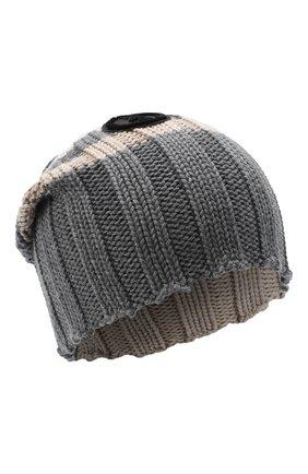 Женский шерстяная шапка GIORGIO ARMANI серого цвета, арт. 797377/0A513 | Фото 1
