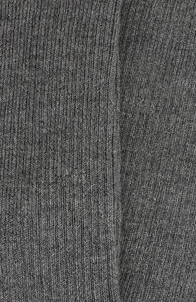 Женские колготки из смеси кашемира и шелка LORO PIANA темно-серого цвета, арт. FAC5023 | Фото 2