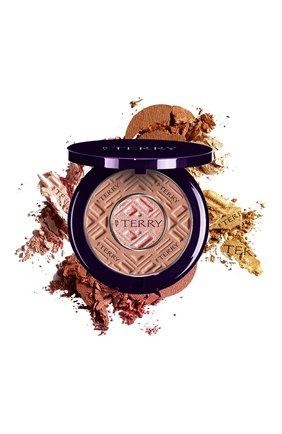 Двойная пудра compact-expert dual powder, 2 rosy gleam BY TERRY бесцветного цвета, арт. V17111002 | Фото 1