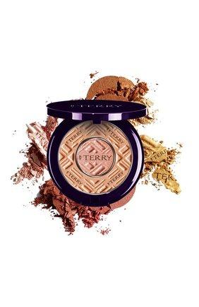Двойная пудра compact-expert dual powder, 3 apricot glow BY TERRY бесцветного цвета, арт. V17111003 | Фото 1