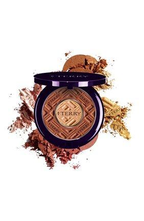 Женская двойная пудра compact-expert dual powder, 6 choco vanilla BY TERRY бесцветного цвета, арт. V17111006 | Фото 1