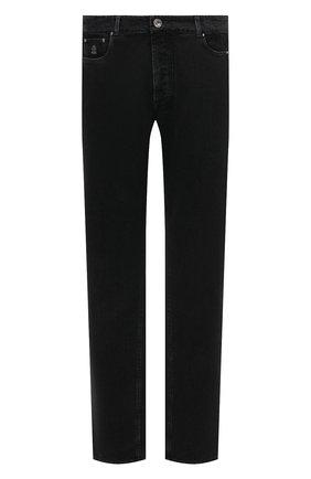 Мужские джинсы BRUNELLO CUCINELLI серого цвета, арт. ME245D2210 | Фото 1
