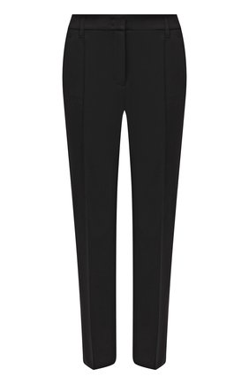 Женские брюки из вискозы DOROTHEE SCHUMACHER черного цвета, арт. 848003/EM0TI0NAL ESSENCE | Фото 1