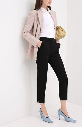 Женские брюки из вискозы DOROTHEE SCHUMACHER черного цвета, арт. 848003/EM0TI0NAL ESSENCE | Фото 2