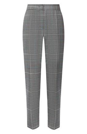 Женские брюки из шерсти и вискозы ESCADA серого цвета, арт. 5033602 | Фото 1