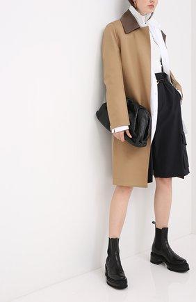 Женские кожаные ботинки elton PIERRE HARDY черного цвета, арт. UE01/CALF | Фото 2