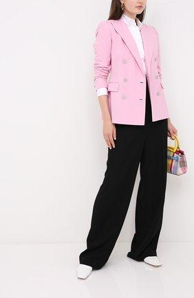 Женский кашемировый жакет RALPH LAUREN розового цвета, арт. 290625543 | Фото 2