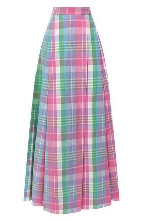 Женская хлопковая юбка RALPH LAUREN разноцветного цвета, арт. 290798140 | Фото 1