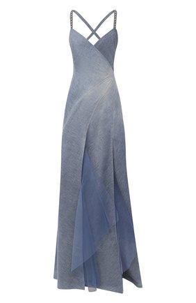 Женское джинсовое платье RALPH LAUREN синего цвета, арт. 290798046 | Фото 1