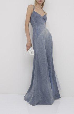 Женское джинсовое платье RALPH LAUREN синего цвета, арт. 290798046 | Фото 2