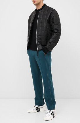 Мужская комплект из двух футболок NEIL BARRETT черного цвета, арт. PBJT588/P582S | Фото 2