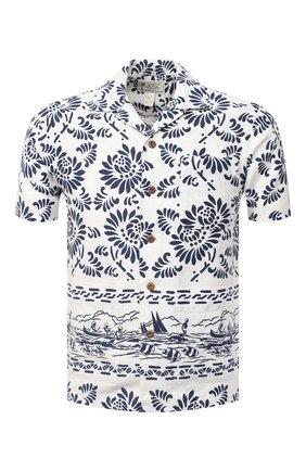 Мужская льняная рубашка RRL разноцветного цвета, арт. 782784875 | Фото 1
