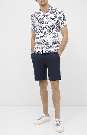 Мужская льняная рубашка RRL разноцветного цвета, арт. 782784875 | Фото 2