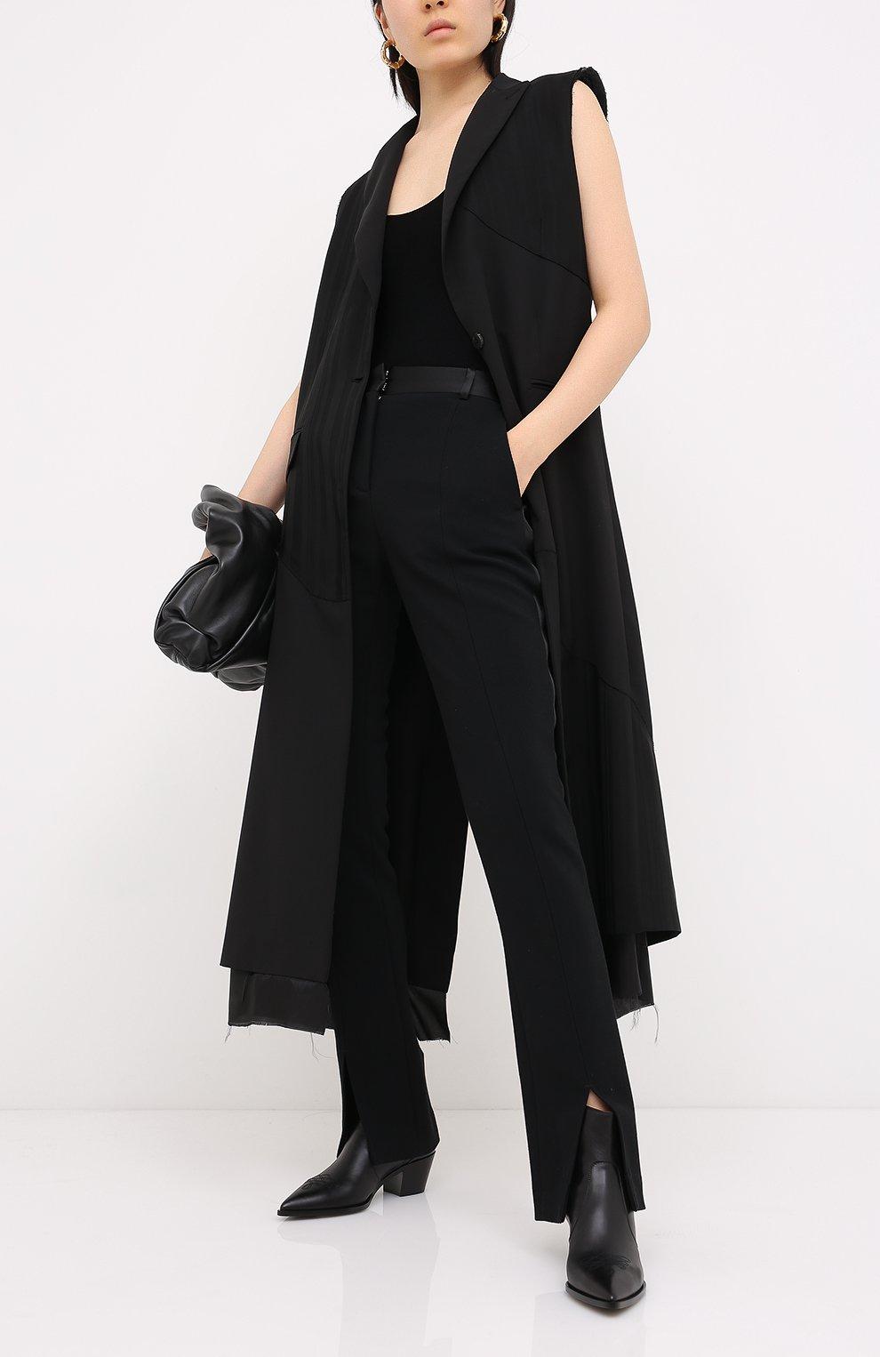 Женские кожаные ботинки GIANVITO ROSSI черного цвета, арт. G70343.45CU0.CLNNER0   Фото 2