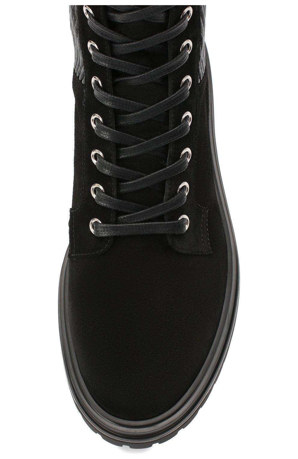 Женские комбинированные ботинки martis GIANVITO ROSSI черного цвета, арт. G73884.20CU0.SESNENE | Фото 5