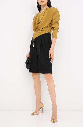 Женская туфли plexy pump GIANVITO ROSSI золотого цвета, арт. G20140.15RIC.M0PMETR | Фото 2