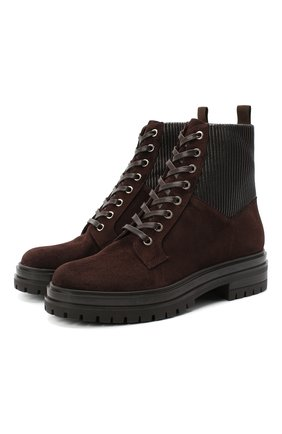 Комбинированные ботинки Martis | Фото №1