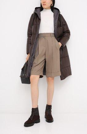 Женские комбинированные ботинки martis GIANVITO ROSSI коричневого цвета, арт. G73884.20CU0.SESM0M0 | Фото 2