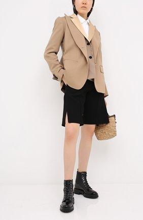 Женские кожаные ботинки martis GIANVITO ROSSI черного цвета, арт. G73884.20CU0.VHENENE | Фото 2