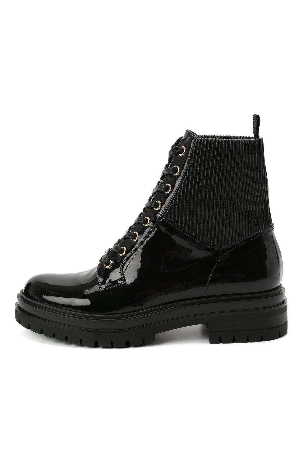 Женские кожаные ботинки martis GIANVITO ROSSI черного цвета, арт. G73884.20CU0.VHENENE | Фото 3